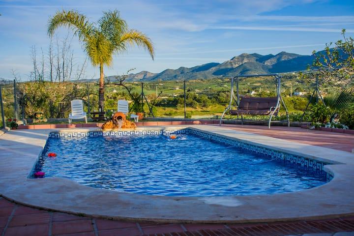 Typical Andalusian villa in beautiful surroundings
