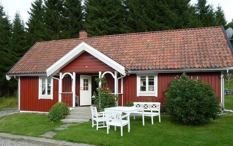 Bryggerhuset, koselig hus i Enningdalen