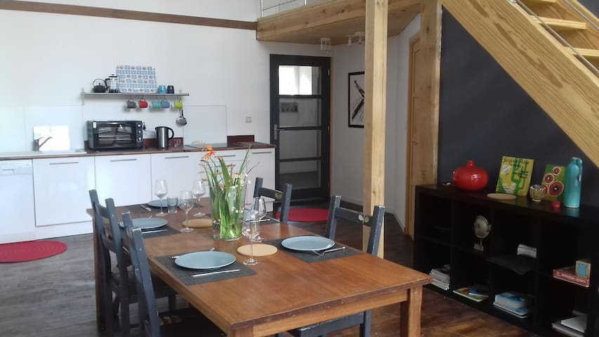 Appartement style loft, plage de Port Manec'h - Névez - Loftlakás