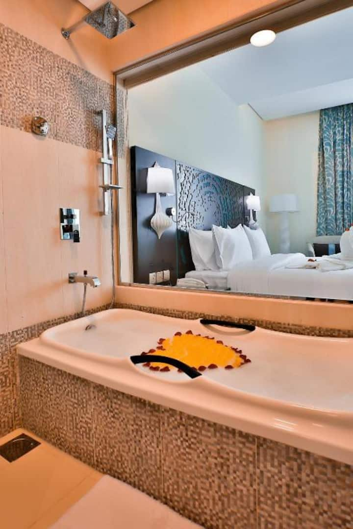Amazing 4 stars hotel room with daily cleaning