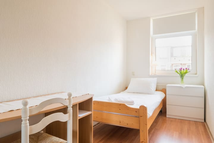 1 Person Bedroom in City Center! - Rotterdam - Huoneisto