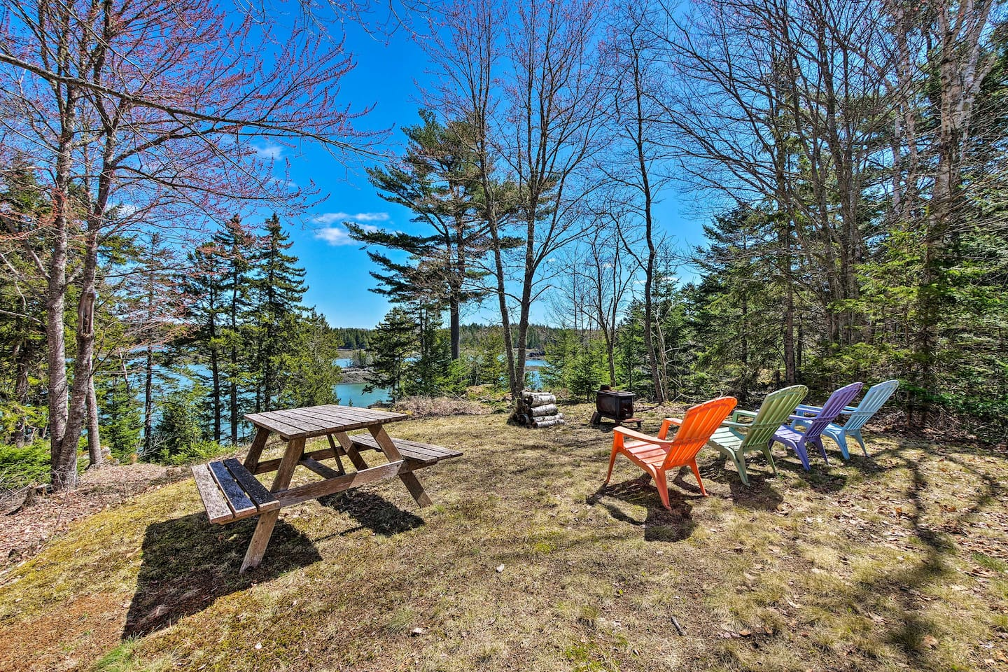 Get away from it all and book your next getaway at this Lubec vacation rental!