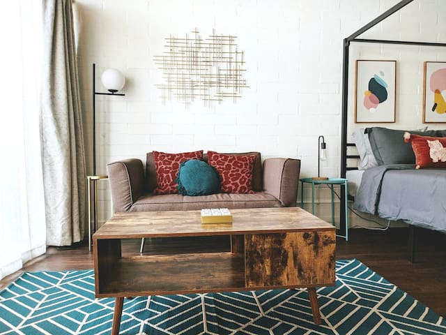 Kick back and enjoy a glass of wine and a movie after a day hiking or window shopping at the stylish boutiques in Hermosa and Manhattan beach.