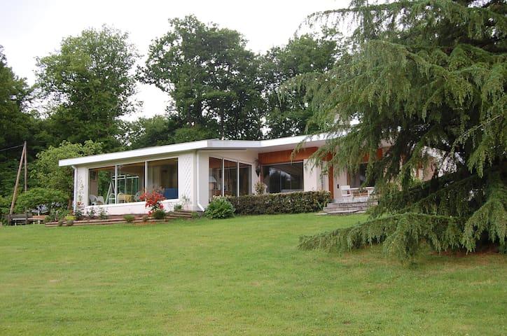 Maison de plein pied sans vis à vis - Gueugnon - Hus