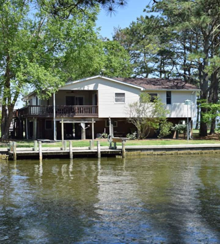 Horsin' Around-Boat Dock, Canal Front, Oyster Bay