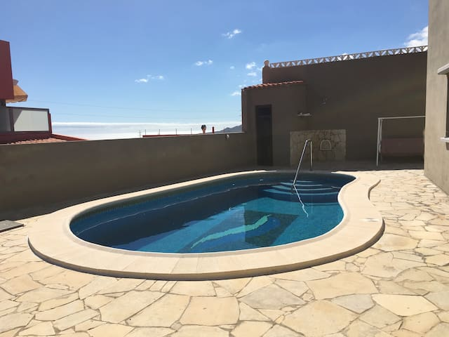 Luxury house with private pool/BBQ/3 bedrooms - Candelaria - Chalet