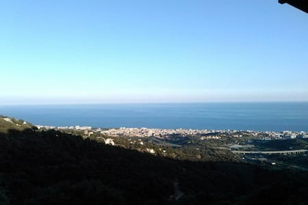 Bungalow in Calella, in the mountains, great views - Calella - 小平房