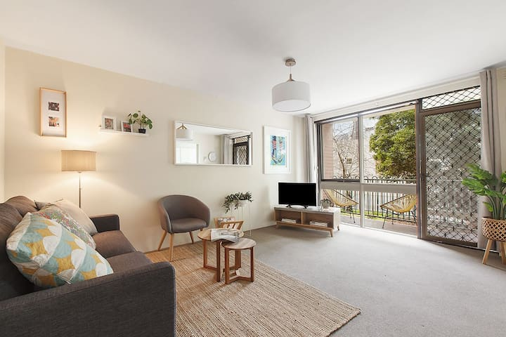 Charming city fringe apartment ideal for a Family