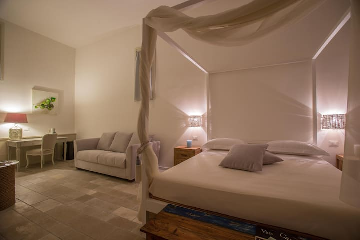 Camera Deluxe in antico casale con piscina - Galatina - Bed & Breakfast