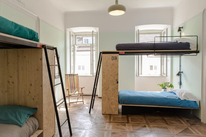 Bunk Bed In 4 Beds Mixed Dormitory Room Standard Rate