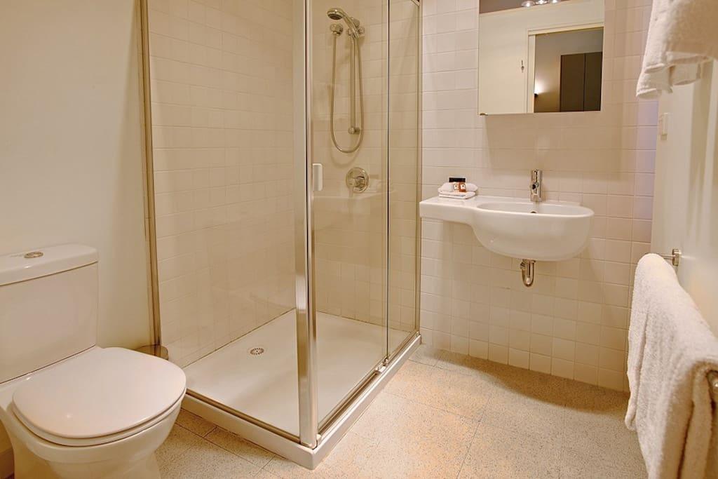 Private en-suite facilities.