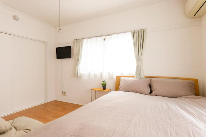 1DK Room with Good Access to Airport/Tokyo/Chiba