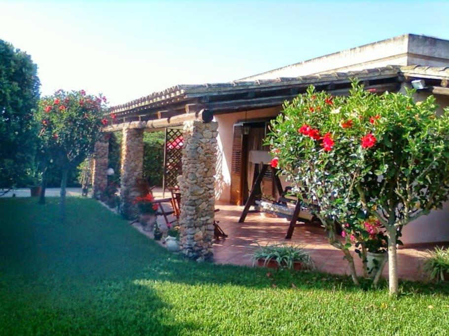Casa vacanze villarita ville in affitto a marsala for Ville vacanze italia