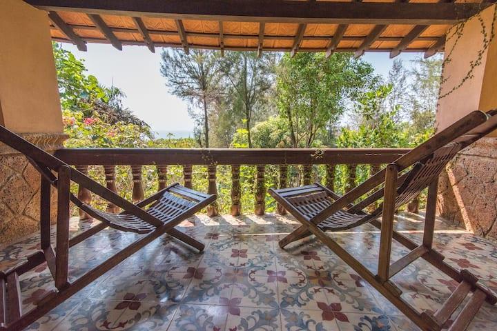 Kundapura Homestay: Sea Facing Water Cottage