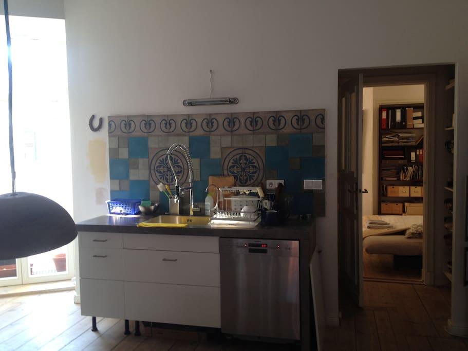 Kitchen + second sleeping room