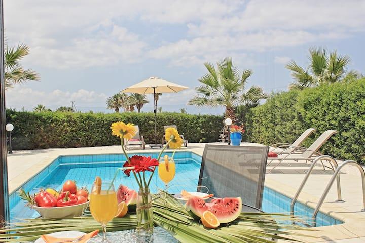 Villa Amariliz with pool in Argaka