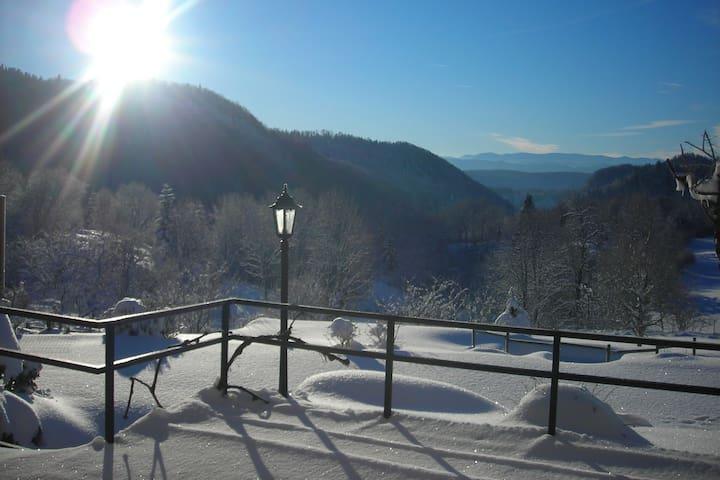 Gîte des Monts Jura, spacieux,calme et confortable - Les Crozets - Naturstuga