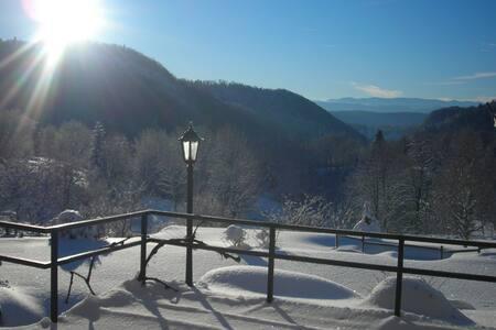 Gîte des Monts Jura, spacieux,calme et confortable - Les Crozets