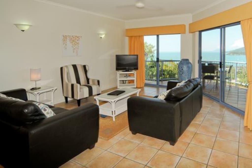 Lounge Room and Balcony