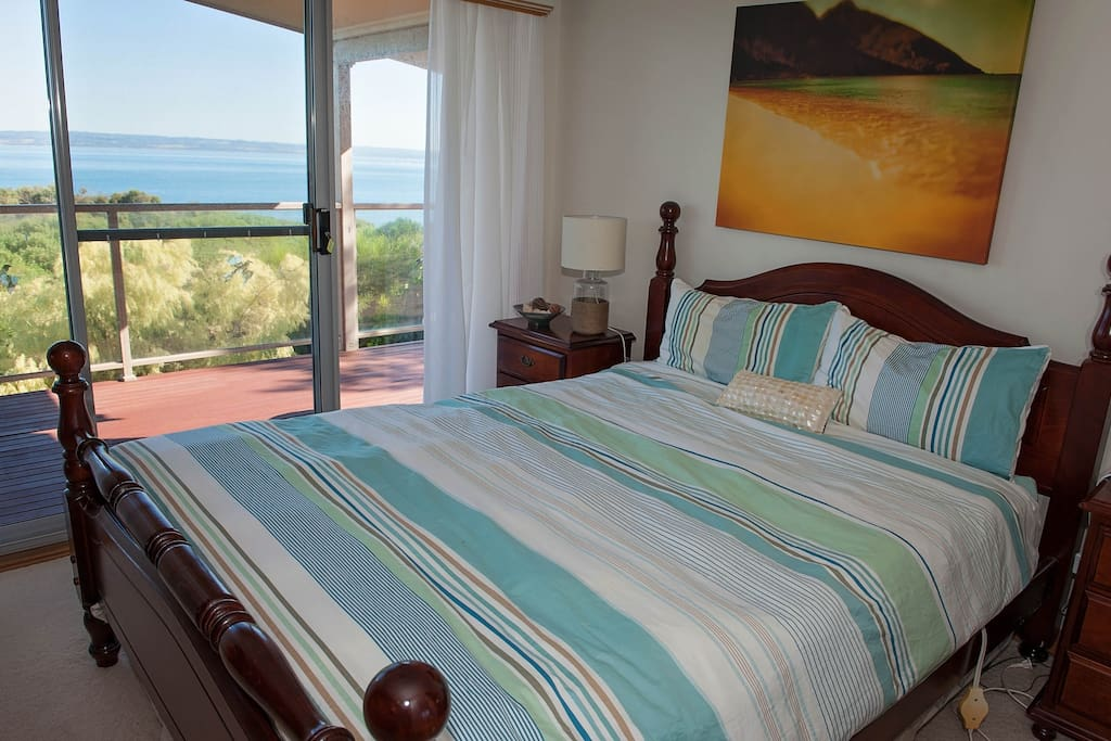 Master bedroom with ensuite and fantastic views