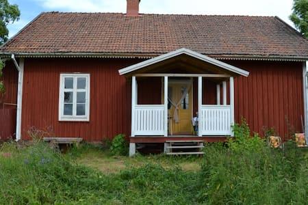 Old School in Småland Sweeden. - Ruda