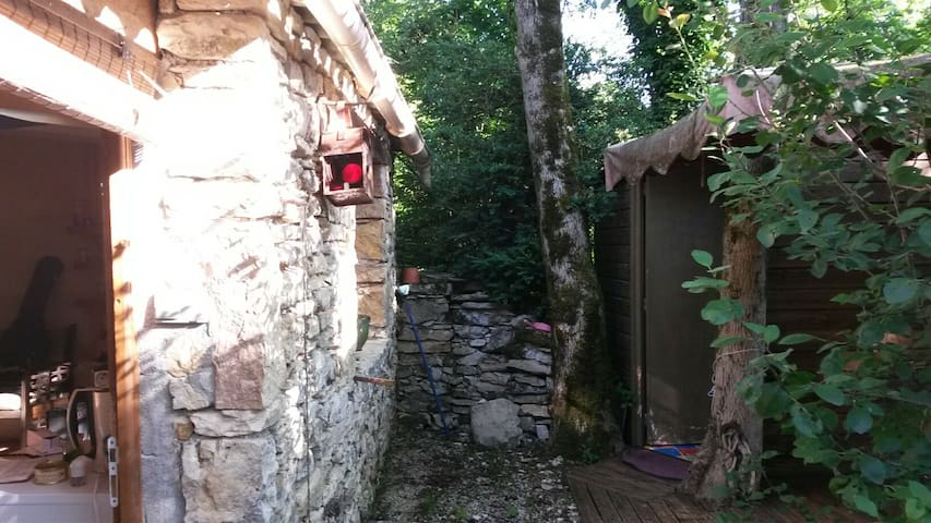 Charmante maisonnette - Lamothe-Cassel - Huis