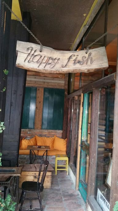 This is the caffe which is owned by the Happy apartments, where you can get all the information you need about the condo, and enjoy a nice cup of coffee as well.