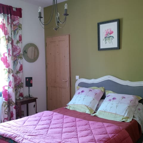 Chambre pour 2 dans le Médoc - Gaillan-en-Médoc - ที่พักพร้อมอาหารเช้า