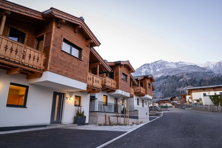 First IN Mountain Chalet with private Sauna B