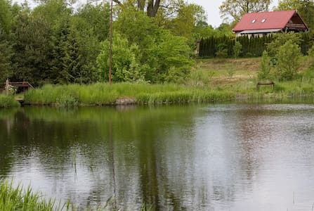 House By the Pond - Lędziechowo - House