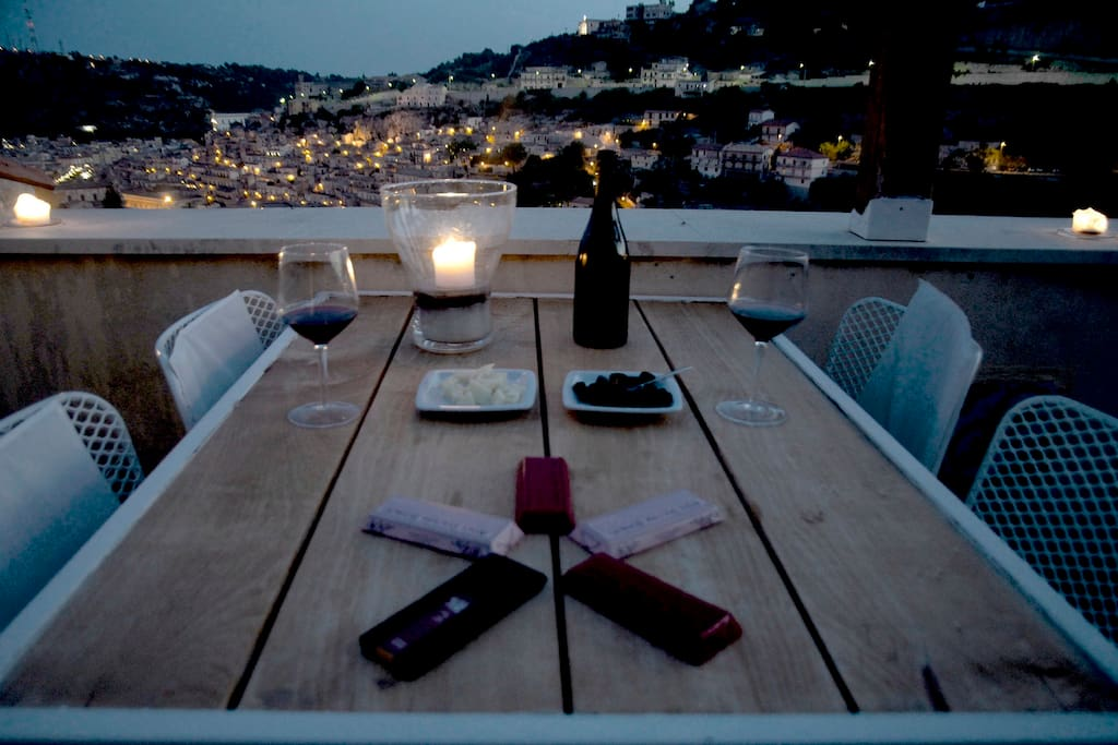 Romantic refuge with stunning view