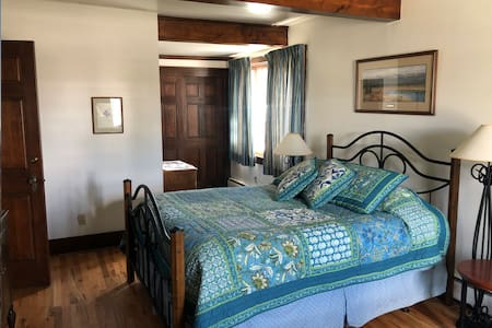 The Master Bedroom- Private Entry in Historic Home