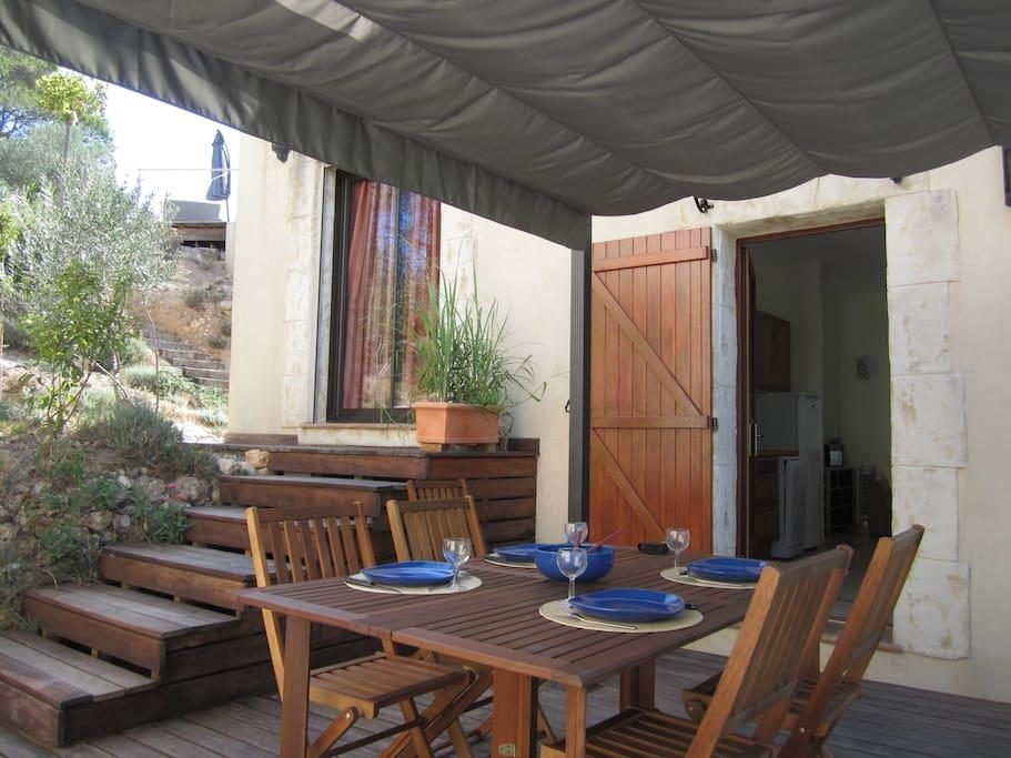 Votre terrasse privative 1