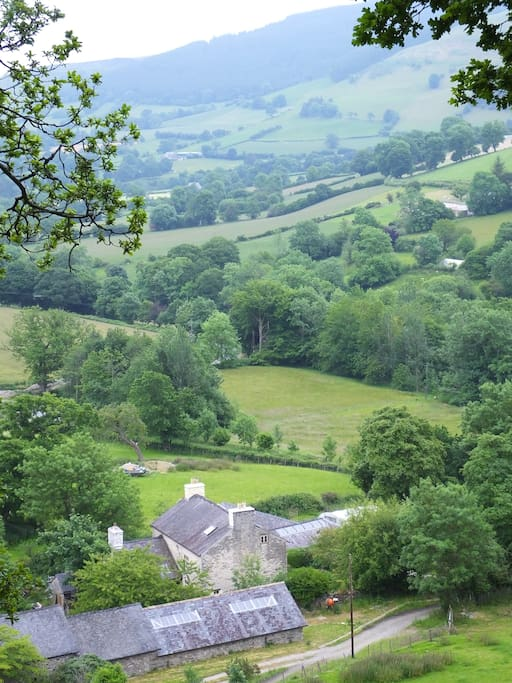 Set in the Hirnant/Tanat Valley
