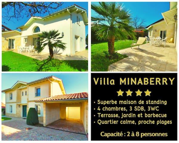 ViIla MINABERRY ★ Jolie Maison avec Jardin ★ CALME