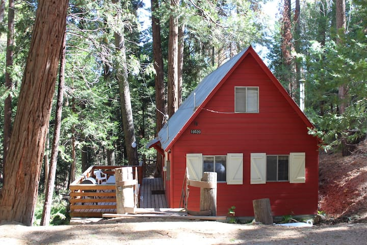 The Little Red Lodge: Dog Friendly! - Wofford Heights - Sommerhus/hytte