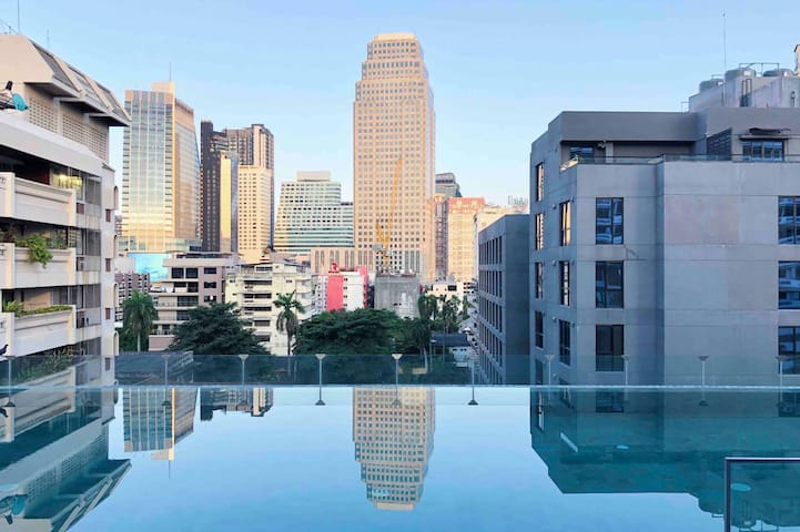 【Sterilized♡50%OFF】Luxury1BR@Asok&NaNaBTS/Kingbed