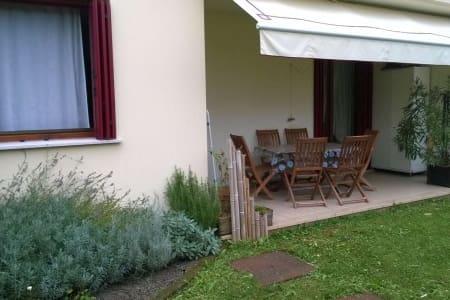 Mini appartamento con giardino - Nervesa della Battaglia - Departamento