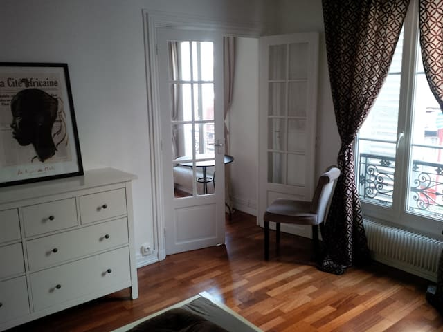 Top located furnished 2 rooms - Parijs - Appartement
