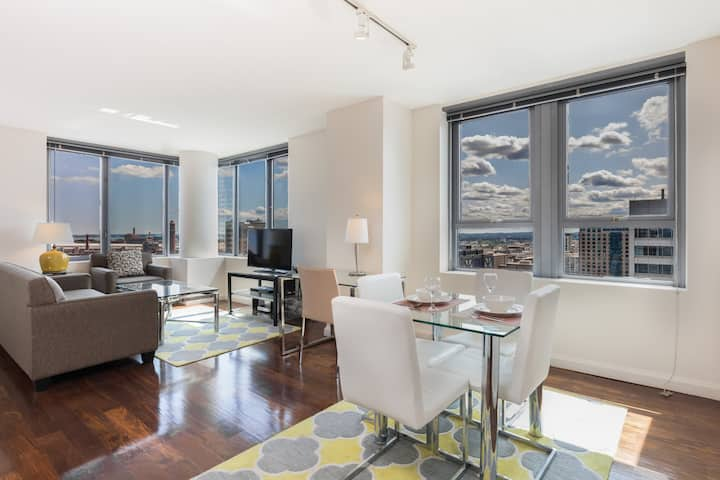 Beautifully Furnished 2-BR in The Heart of Boston!