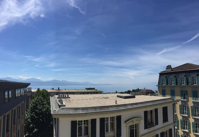 cosy aptmt in the heart of Lausanne - Lausanne - Apartment