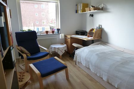 Nice room in calm area - Göteborg, - Apartamento