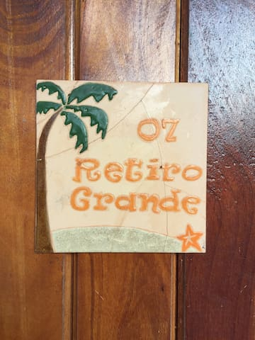 Suite Retiro Grande:Ar Cond+WC. Peroba, Icapui.