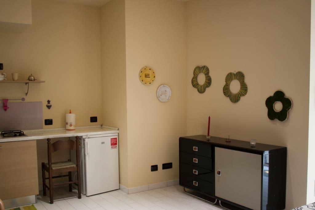 alloggio 2, cucina