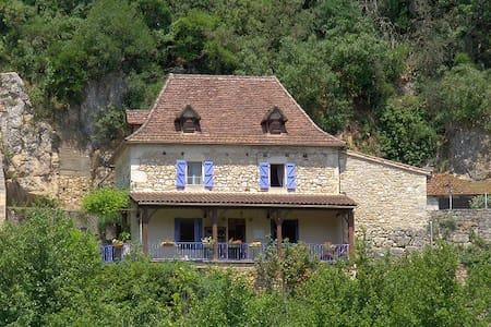 Maison  au pied de St Cirq Lapopie - Le Port de Tour- de-Faure, 46330 St. Cirq Lapopie