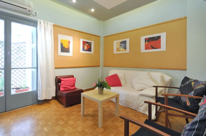 Lovely flat in typical neighborhood - Kentrikos Tomeas Athinon - Apartment