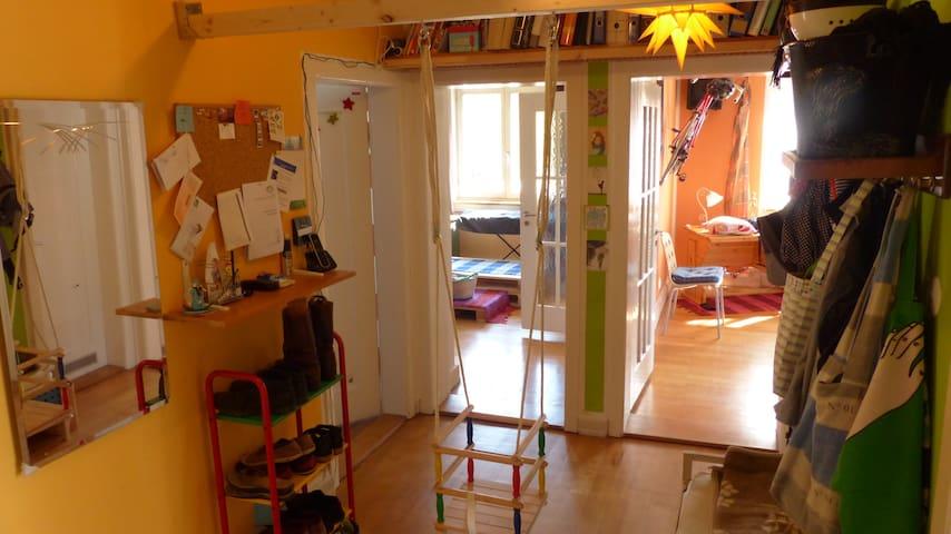 Lieblich-verrückte 3Zimmerwohnung - Friburgo - Appartamento