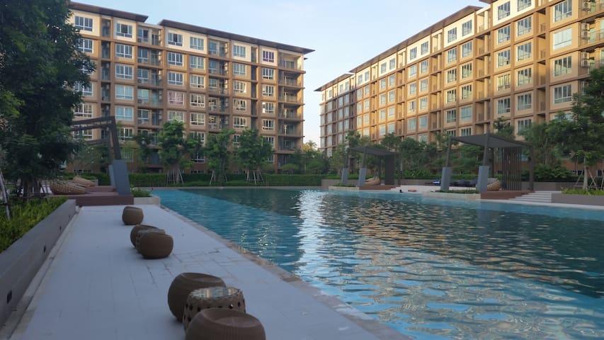 The Relaxing Room@Baan Tew Lom Condominium Cha Am.