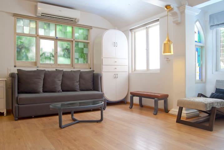 Warm n cozy morrocan style studio. - Khar