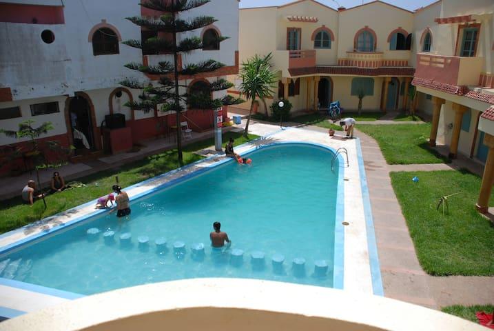 F3 DANS RESIDENCE  AVEC PISCINE - Sidi Bouzid - Condo